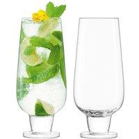 LSA International Set of 2 Rum Mixer Glasses.