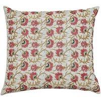 Morris & Co Seasons By May Saffron Cushion.