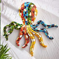 Kaleidoscope Mosaic Octopus