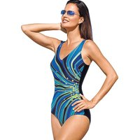 Naturana Soft Cup Print Swimsuit