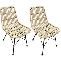 Pair of Hadley Dining Chairs.