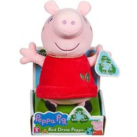Peppa Pig Plush Soft Toy Made With 100% Recycled Materials.