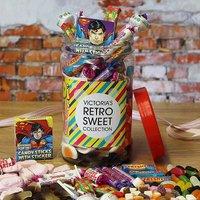 Personalised Assorted Retro Sweets Jar.