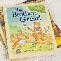 Personalised Big Brothers are Great Hardback Book.