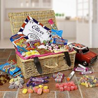 Personalised Great British Sweet Hamper.