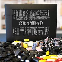 Personalised Liquorice Sweet Box.