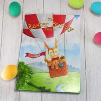 Personalised The Easter Bunny Story Hardback Book.