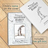 Personalised Velveteen Rabbit First Edition Book.