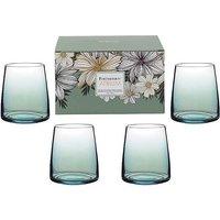 Portmeirion Atrium Set of 4 Stemless Wine Glasses.
