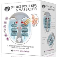 Rio Deluxe Heated Foot Bath Spa & Massager.