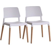 Riva Pair of Dining/Occasional Chairs.