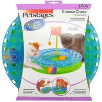 Rosewood Cheese Chase Cat Toy.