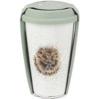 Royal Worcester Wrendale Designs Hedgehog Travel Mug with Silicone Lid.