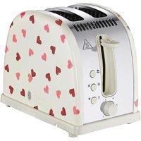 Russell Hobbs Emma Bridgewater Pink Hearts 2 Slice Toaster.