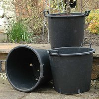 Kaleidoscope Set of Three Planting Pots - 30L