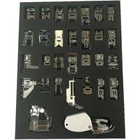 Sewing Machine Presser Foot Set - 30 Pieces.