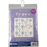 Shashiko World Hand Sewing Dishcloth Kit - France KSW-018E.