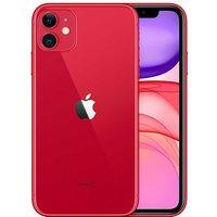 Sim Free Apple iPhone 11 64GB - Red.