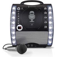 Singing Machine Bluetooth Karaoke Machine & CD Player with LED Lights.