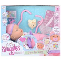 Snuggles Care for Sara Baby Doll Playset.