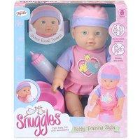 Snuggles Potty Training Skyla Baby Doll Playset.