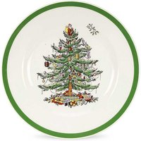Spode Christmas Tree Set Of 4 Ceramic 20cm Plates.