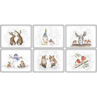 Wrendale Designs Christmas Placemats - Set of 6
