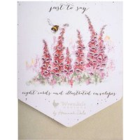 Wrendale Designs 'Just to Say' Notelet Set.