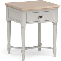 Anwen Painted Lamp Table with Drawer