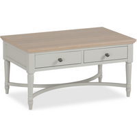 Anwen Painted Coffee Table with Drawers