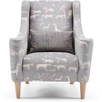 Archer Armchair - Grey