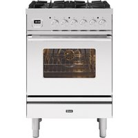 Ilve P06WE3/SS Roma 60cm Dual Fuel Range Cooker - Stainless Steel