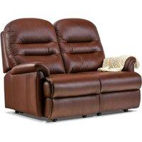 Sherborne Keswick Petite Leather Fixed 2 Seater Sofa