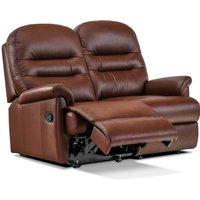 Sherborne Keswick Petite Leather Electric Reclining 2 Seater Sofa