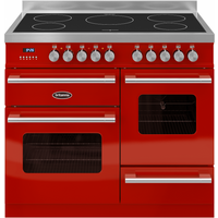 Britannia 544440014 Delphi 100cm Induction Range Cooker - Red