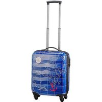 Check In Madeira 4-Rollen-Kabinen-Trolley 55 cm - sky blau
