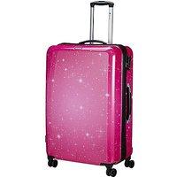 Check In Galaxy 4-Rollen-Trolley 77 cm - pink