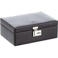 Windrose Beluga Uhrenkassette für 10 Uhren 24 cm - schwarz