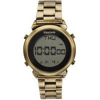 Relógio Touch Digital Dourado TW016R4B/4D TW016R4B/4D