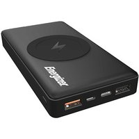10000mAh Wireless Power Bank - Black by Energizer