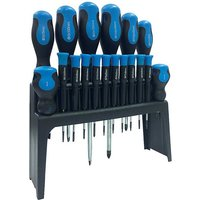 18 Piece CRV Screwdriver Set