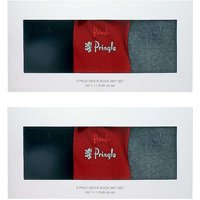 2 x 3 Pack Gift Boxed Socks by Pringle