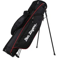 6in Stand Bag - Black & Red by Ben Sayers
