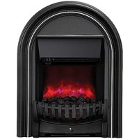 Abbey Black Inset Electric Fire By Be Modern