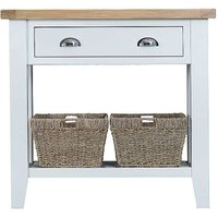 Churchill Oak & Painted Console Table