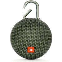 Clip 3 Portable Bluetooth Speaker - Green by JBL