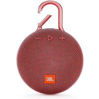 Clip 3 Portable Bluetooth Speaker - Red by JBL