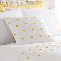 Daisy Border Filled Cushion