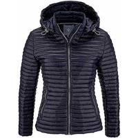 Detachable Hood Quilted Jacket by Aniston