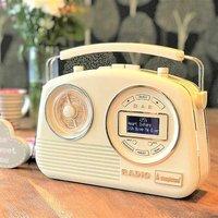 Devon DAB/FM Radio by Steepletone - Cream